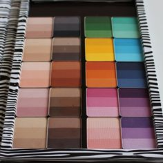 Inglot - What an amazing palette  of COLOR!