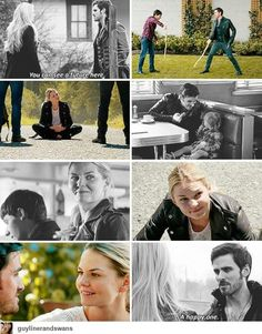 And I love how Emma then says 'let me guess, with you?' turns out He was Right! :)  #CaptainSwan