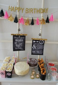 amazing details & craft ideas for a party table
