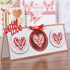 Tonic Heart and Butterfly Die and Stamp Collection (342189) | Create and Craft