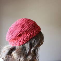 Braided Slouchy Hat - Free Crochet Pattern