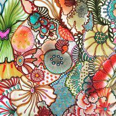 #zentangle #zentangleart #art #nofilter #picoftheday #watercolor #colors #inspiration #creativity #flowers