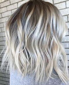 Icy and Rooty Blonde | Mane Interest | Bloglovin'