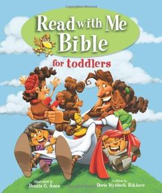 Read with Me Bible for Toddlers by Doris Rikkers, http://www.amazon.com/dp/0310718775/ref=cm_sw_r_pi_dp_tz1ysb0V5FZ0E