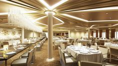 Chic (Rendering) – Royal Caribbean's New Dynamic Dining for Quantum of the Seas | Popular Cruising (Image Copyright © Royal Caribbean International)