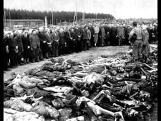 BBC war correspondent Richard Dimbleby's harrowing account of Bergen-Belsen after its liberation. (WARNING:  GRAPHIC CONTENT.) ...    Richard Dimbleby's 1945 news report from Belsen with photographs
