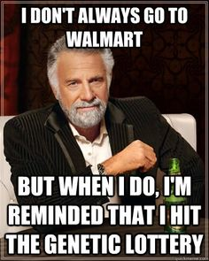 The Dos Equis Man Meme has good genes. That almost rhymes. Too poetic for a meme.