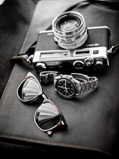 camera. rolly. and shades. what more do you  need