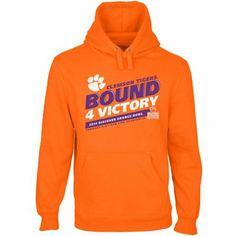 Clemson Tigers 2014 Orange Bowl Bound 4 Victory Hoodie
