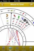 Astro Gold Astrology Software for iPhones and iPads