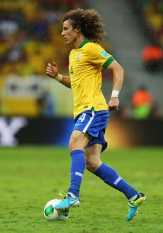 David Luiz David Luiz of Brazil in action during the FIFA Confederations Cup Brazil 2013 Group A match between Brazil and Japan at National Stadium on June 15, 2013 in Brasilia, Brazil.