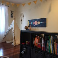 Thank you to our customer Anne for sending us this photo of our solar system wrapped canvas art print in her gorgeous nursery! #jolieprints #solarsystemnursery #solarsystem www.jolieprints.com