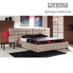 Čalúnená posteľ NIKE P