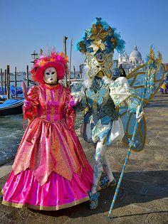 Carnival in Venice, Italy by pedro lastra