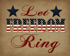printable - 4th of July 8x10    http://pinkpolkadotcreations.com/2012/06/08/let-freedom-ring/