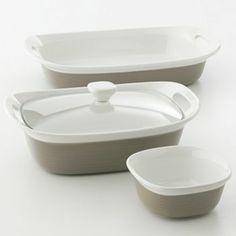 CorningWare Etch 4-pc. Bakeware Set