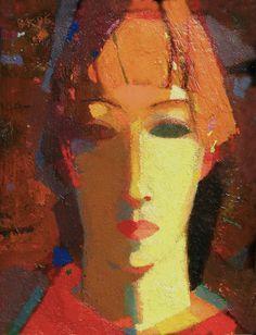 Vladimir Karnachev - Владимир Карначёв Vladimir Karnachev was born on March 1953 in. Abstract Faces, London Art, Schmuck Design, Portrait Art, Face Art, Figurative Art, Traditional Art, Oeuvre D'art, Mixed Media Art