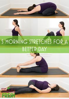 Best Morning Stretches: 5 Stretches For The Best Day Ever Best Morning Stretches: 5 Stretches For The Best Day Ever,Exercise Best Morning Stretches: 5 Stretches For The Best Day Ever Related posts:yoga fitness,yoga for. Morning Stretches Routine, Daily Stretches, Everyday Stretches, Stretching Exercises, Yoga Workouts, Morning Workouts, Morning Routines, Yoga Everyday, Mini Workouts