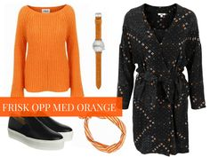 Frisk, Dresses With Sleeves, Orange, Long Sleeve, Polyvore, Fashion, Pictures, Moda, Sleeve Dresses