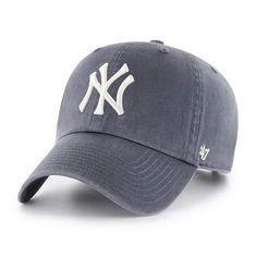 1cfe6a914d5 New York Yankees Vintage Navy 47 Brand Clean Up Adjustable Hat