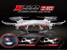 Syma X5C 2.4G 4CH RC DRON Quadcopter s HD kamerou (6271277831) - Aukro - největší obchodní portál