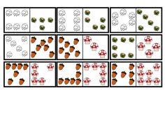 Domino stenen herfst (moeilijker maken 2) Groep 1/2