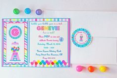 Pink Bubble Gum Birthday Party