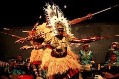 Torres Strait Islander Meriam Cultural group at Mabo Day Concert, at RMIT, 3rd June 2009