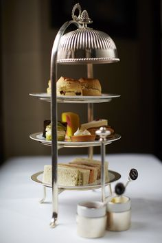 Afternoon tea at the Wolseley is my favorite english tradition