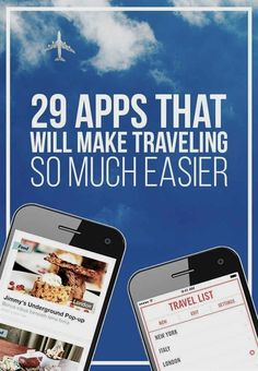 29 Apps That Will Make Traveling So Much Easier Save money on travel, traveling, #travel #SaveMoney  #TravelTipsIdeas