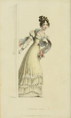 EKDuncan - My Fanciful Muse: Regency Era Fashions - Ackermann's Repository 1826
