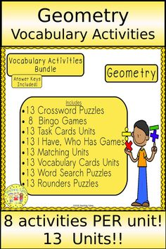 11 Best Geometry - vocabulary images in 2017 | Math