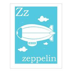 Z is for Zeppelin!