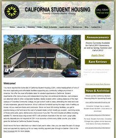 California Student Housing Website