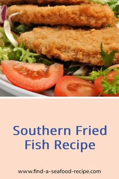 Succulent and bursting with flavour this Southern Fried Tilapia will become a family favourite. Use any white fish for this recipe. Fried Tilapia, Tilapia Fish Recipes, Fried Fish Recipes, Seafood Recipes, Chicken Recipes, Fish And Chips, Salmon Burgers, Fries, Southern