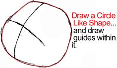 Step 1 : Drawing Owl from Winnie The Pooh in Easy Steps Lesson