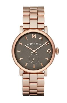 MARC BY MARC JACOBS 'Baker' Bracelet Watch, 36mm (Nordstrom Exclusive) | Nordstrom