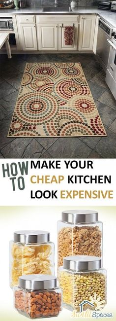 How to Make Your Cheap Kitchen Look Expensive | Kitchen, Kitchen Design, How to Remodel Your Kitchen, Inexpensive Ways to Remodel Your Kitchen, Cheap Kitchen Remodel, Kitchen Tips and Tricks, Kitchen Design Tips, How to Make Your Cheap Kitchen Look Expensive, Popular Pin