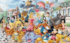 Disney Heroes, Disney Heroes #2, #11, #18. Counted Cross Stitch Kits.