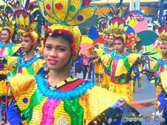 Cagayan de Oro Carnival Parade Clash of Festive Acts and Carnival Queens National High School, Filipino, Festive, Queens, Acting, Carnival, Culture, Activities, History