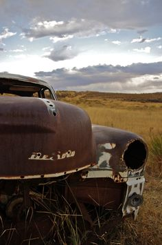 Old Classic Car Left To Rust - Fantastic Skyline