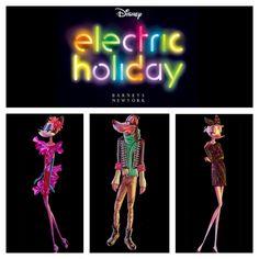 Electric Holiday, Disney for Barney's NY, 2012