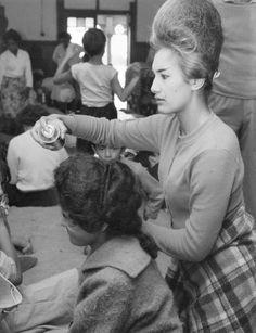 Teased Hair, Bouffant Hair, Elegant Hairstyles, Vintage Hairstyles, Helmet Hair, 1960s Hair, Beehive Hair, Big Hair Dont Care, Hairdressers