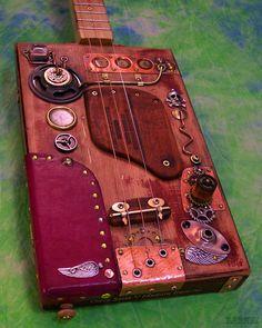steampunk cigar box guitar - Google 検索