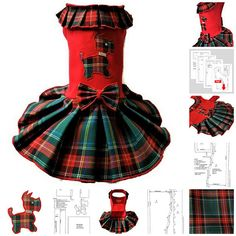 Small pet dog dress pattern XS dog clothes dress for small dog clothes, Dog dresses PDF ,Dog puppy clothes, Dog clothes pattern dog dress PDF Language English Measurements, Dimensions no. 2 photo neck ~ 9-10/24-26cm chest girth ~ 12/30cm length ~ 9/23cm This listing included 1 PDF: