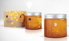 Le packaging des pots de miel Wild Bounty
