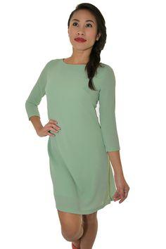 PSL High low Swing Dress in Seafoam Sea Foam, Swing Dress, High Low, Cold Shoulder Dress, Dresses, Fashion, Vestidos, Moda, Fashion Styles