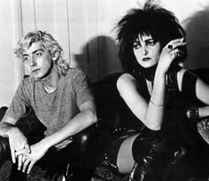 Siouxsie Sioux & Budgie