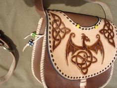 handbag- celtic motive