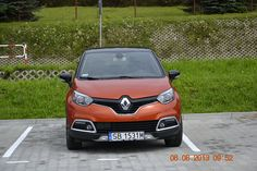 Captur na parkingu :)  #kampaniaRenaultCaptur